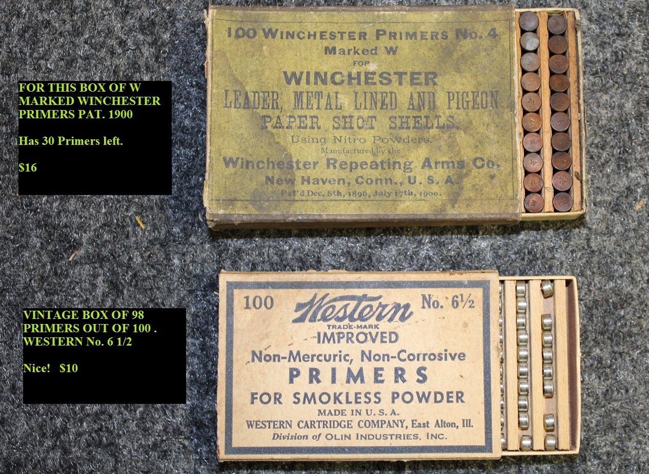 dating western cartridge boxes