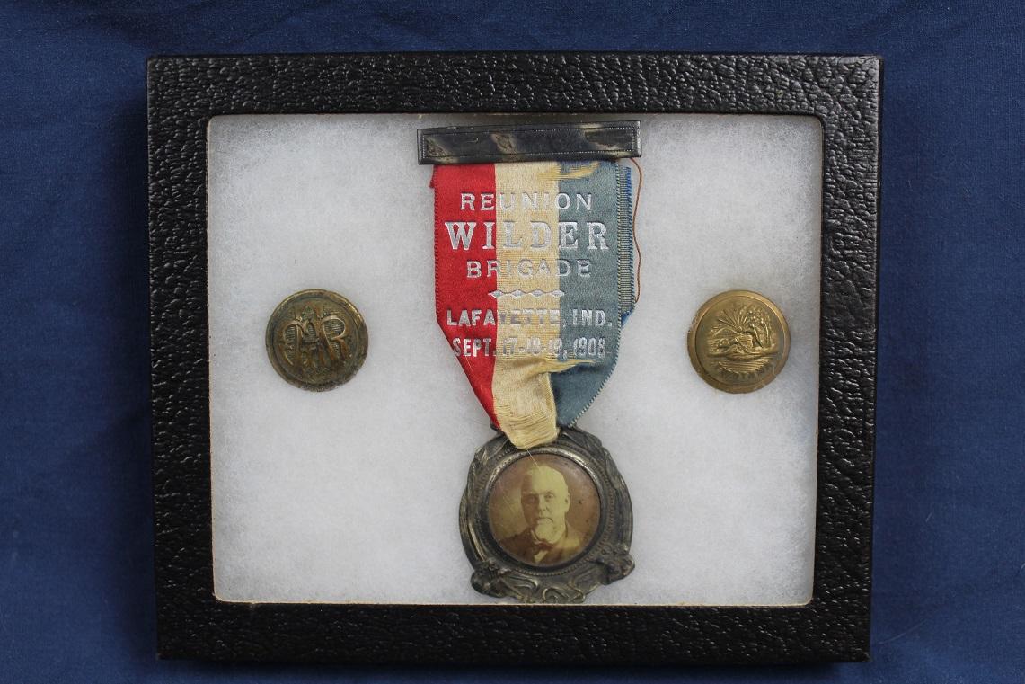 Texas State State Seal Silver DB Blazer Button Set Waterbury Button Company